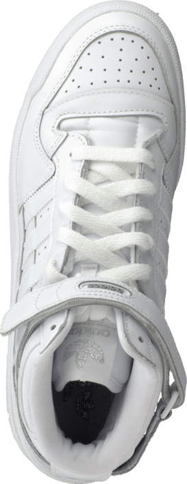 adidas Originals - Forum Mid White / White / White