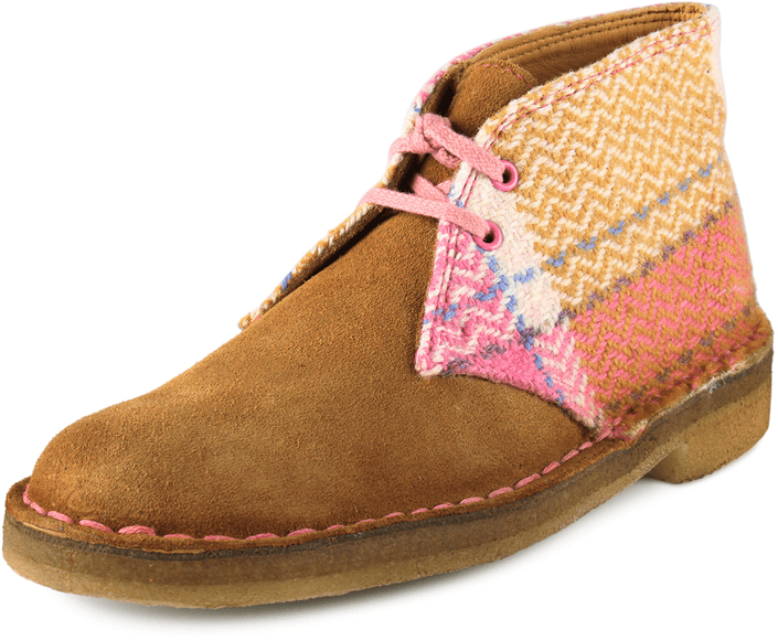 Clarks - Desert Boot Pink