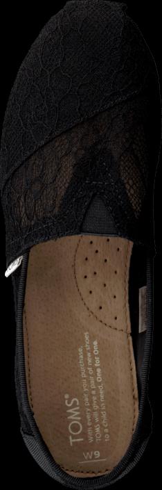 Toms - Seasonal Classic Black Lace
