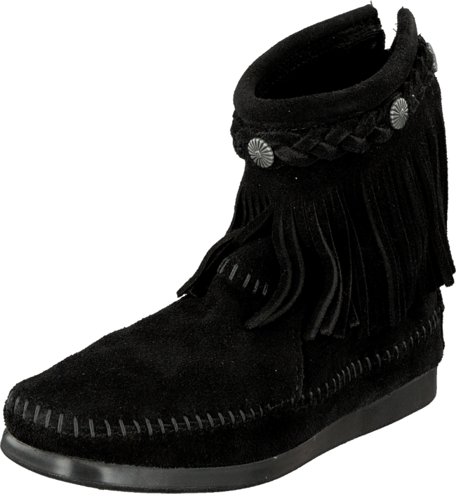 Minnetonka - Hi Top Back Zip Boot