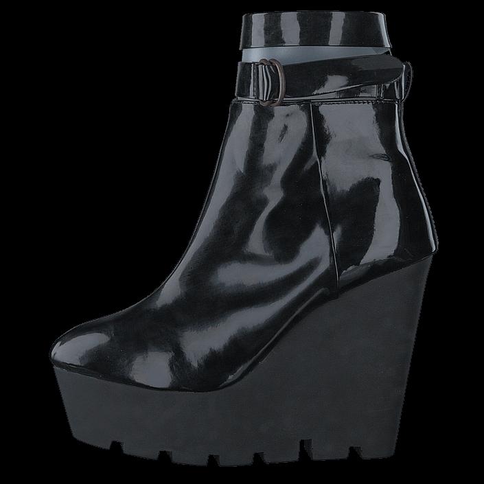 Cheap Monday Monolit zip, Schuhe, Stiefel & Stiefeletten, Hohe Stiefeletten, Schwarz, Female, 36