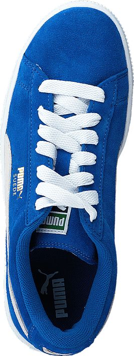 Puma - Suede Jr Snorkel Blue-White