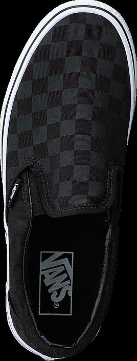 Vans - Classic Slip-On (Checkerboard) Black/Black