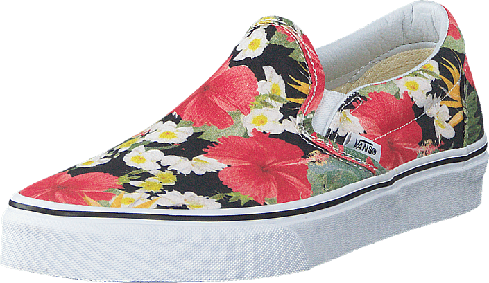 Vans - Classic Slip-On (Digi Aloha) Black/True White