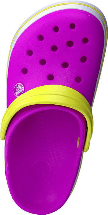 Crocs - Crocband Kids Neon Magenta/Citrus