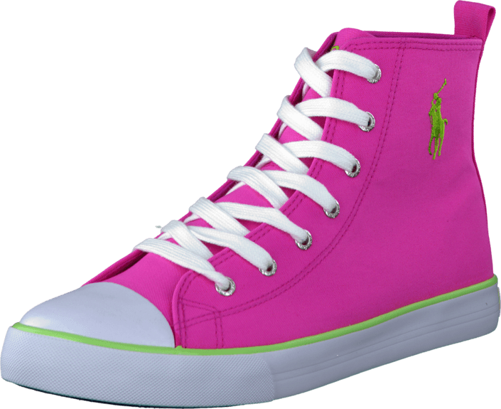 Ralph Lauren Junior - Harbour Hi Hot Pink Canvas