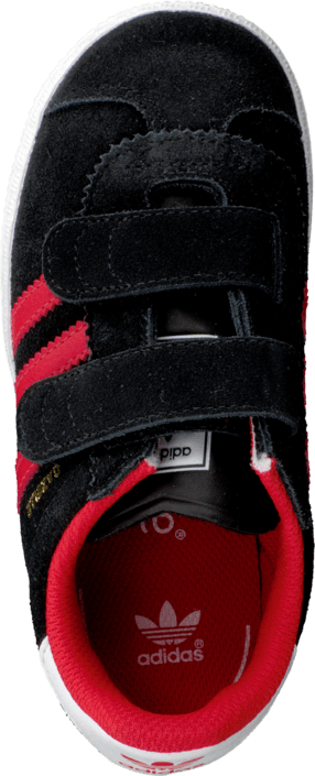 adidas Originals - Gazelle 2 Cf I Black/Red/Ftwr White