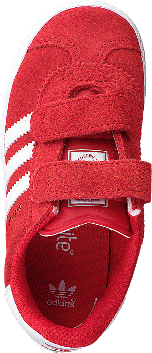 adidas Originals Gazelle 2 Cf I Lush Red S16-St/Ftwr White