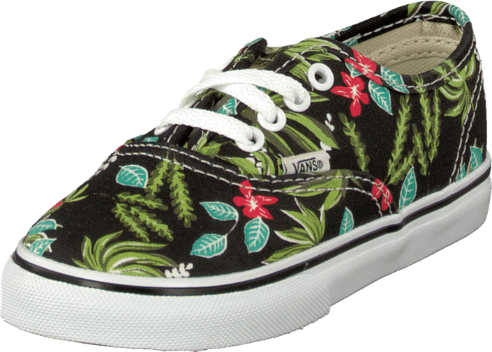 Vans - T Authentic Hawaiian Flora Black