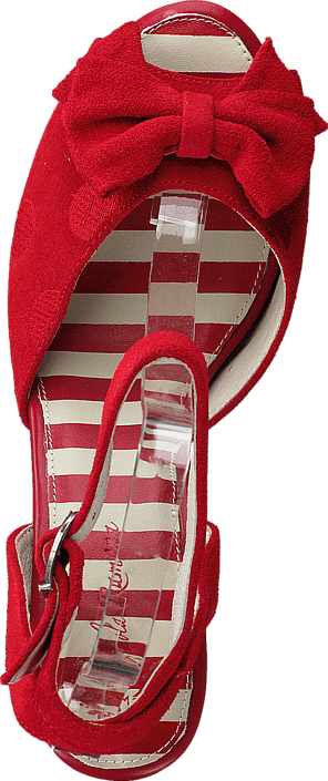 Lola Ramona Angie P Red Suede