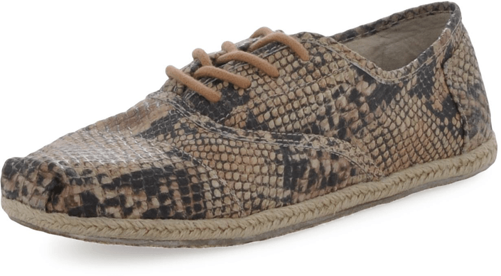 Toms - Perforated Leather