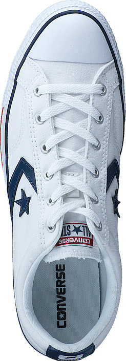 Converse - Star Player Ox White/ White