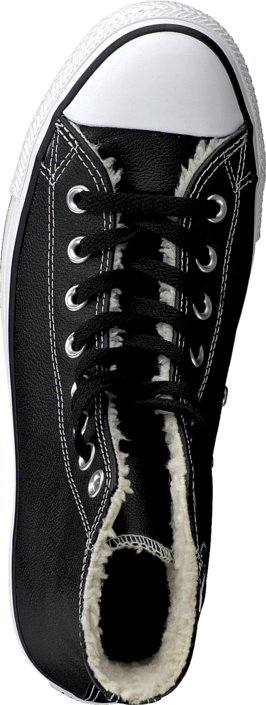 Converse All Star Shearling Hi Black/White