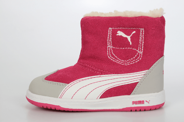 Puma - Contest Suede Boot Kids
