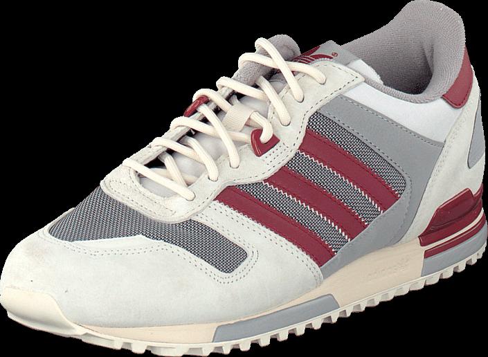 adidas Originals Zx 700 Off White/Rust Red/Solid Grey, Sko, Sneakers & Sportsko, Sneakers, Hvid, Herre, 40