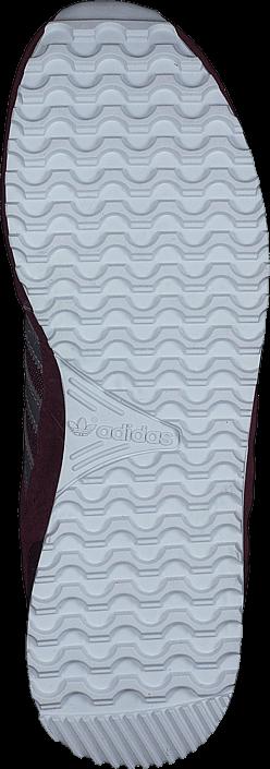 adidas Originals - Zx 700 Maroon/Matte Silver/Ftwr White