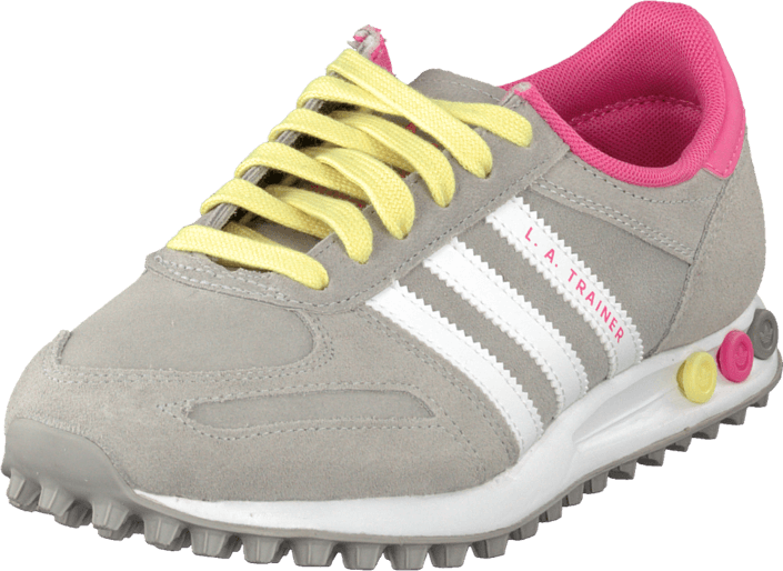 adidas Originals - La Trainer W Mgh Solid Grey/White/Pink