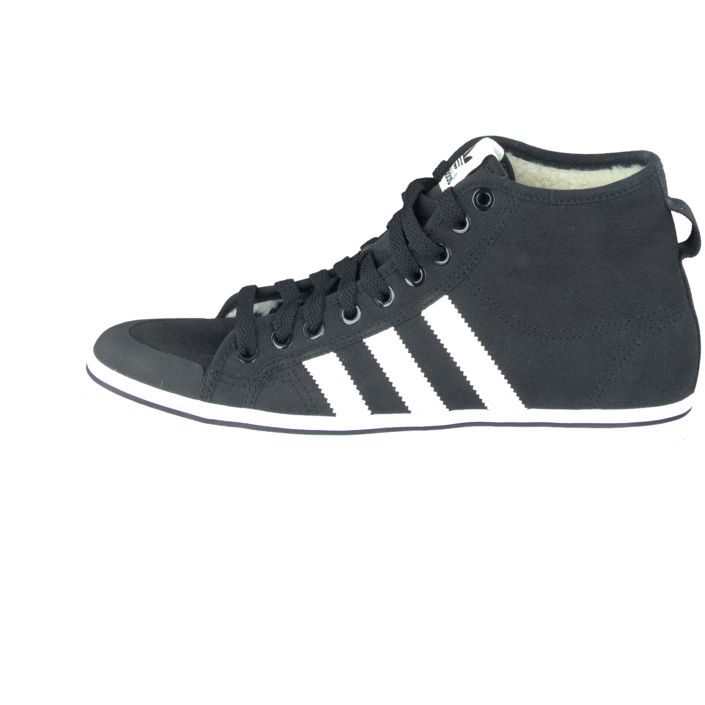 promo code 8991c 4f61f Kjøp adidas Originals Honey Stripes Mid W Core BlackChalk WhiteWhite  sorte Sko Online  BRANDOS.no