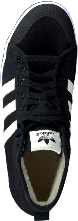 adidas Originals - Honey Stripes Mid W Core Black/Chalk White/White