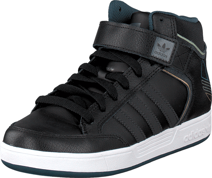 adidas Originals - Varial Mid J Core Black/Dgh Solid Grey