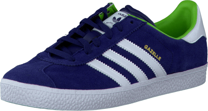 adidas Originals - Gazelle 2 J Dark Blue/Ftwr White/Gold Met.