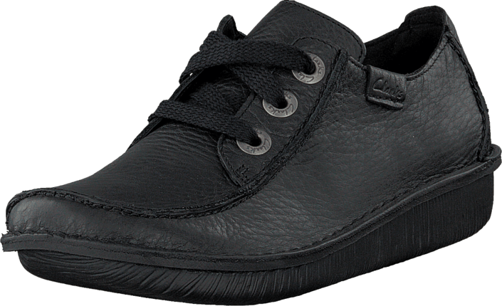 Clarks Funny Dream Black Leather