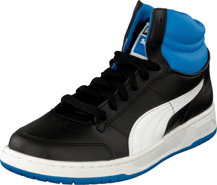 Puma - Full Court Hi Jr Blk/Wht