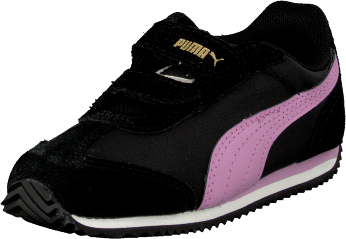 Puma - Rio Speed Nylon V Kids Blk/Purple