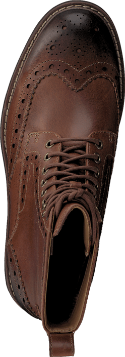 Clarks - Montacute Lord Dark Tan Lea