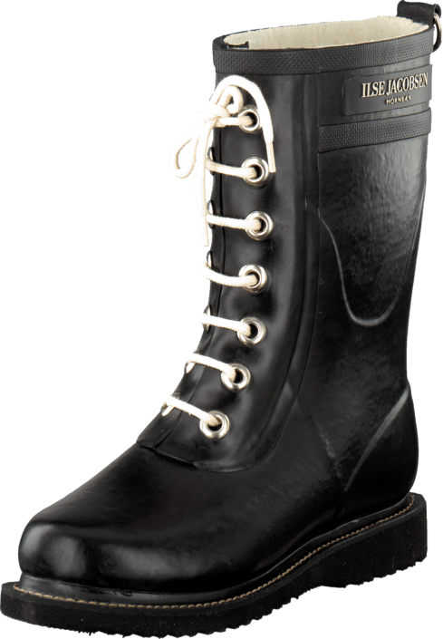Ilse Jacobsen - Kids Rubberboot Black