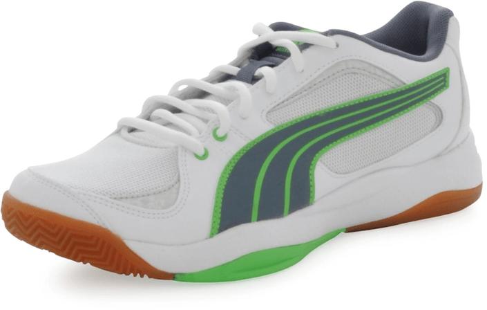 Puma - Ballesta White-Grisaille, Fluro-Green