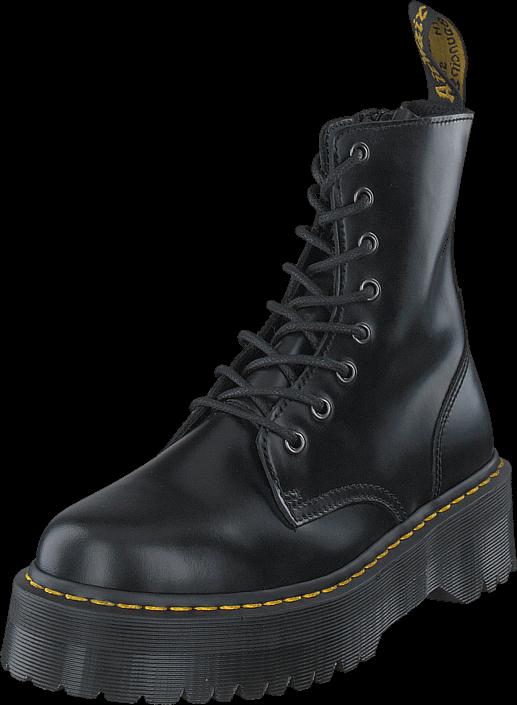 Dr Martens Jadon Black, Sko, Boots & Støvler, Kraftige støvler, Grå, Sort, Unisex, 48