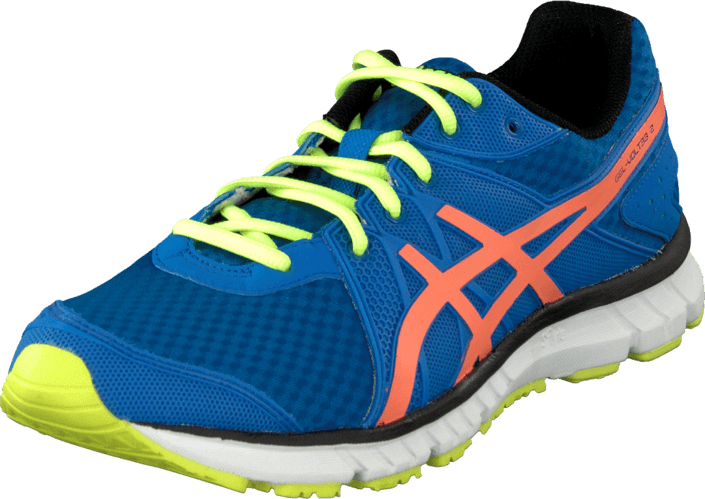 Asics - Gel Volt33 2 Brilliant Blue/Orange/Yellow