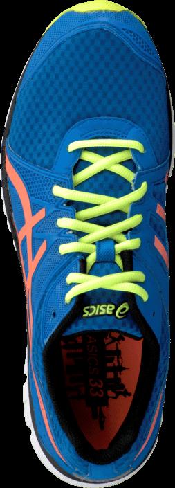 Asics - Gel Volt33 2 Brilliant Blue/Orange/Yellow