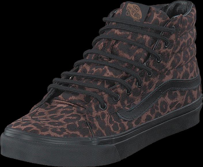 Vans U Sk8-Hi Slim Suede Leopard