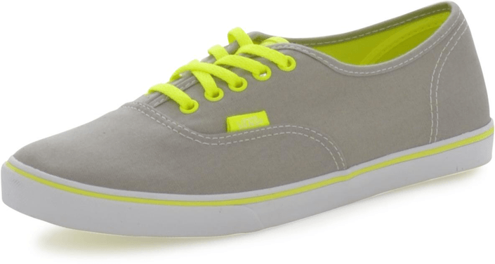 Vans - U Authentic Lo Pro Neon Grey/Yellow