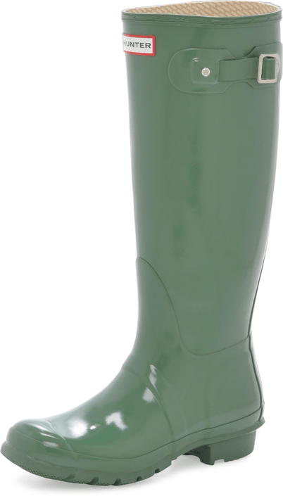 Hunter - Original Tall Gloss Moss Green