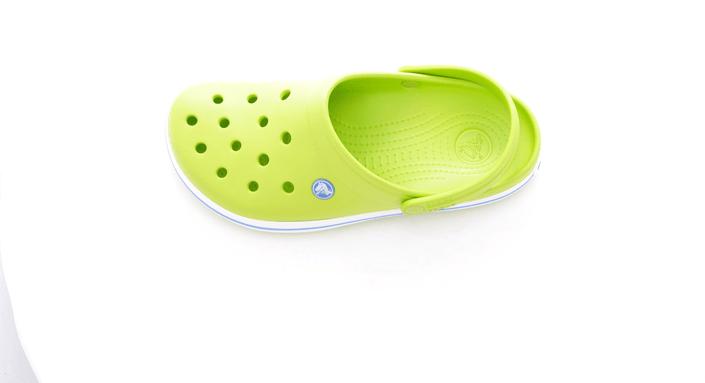 Crocs - Crocband Volt Green/Varsity Blue