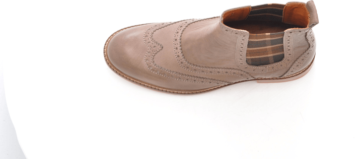 Marc O'Polo - Flat Heel Chelsea Washed Lamb Taupe