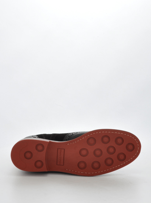 Marc O'Polo - Flat Heel Chelsea Washed Lamb/Suede Black