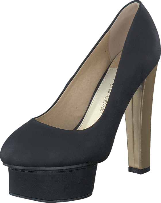 Sugarfree Shoes Marica Black / Gold
