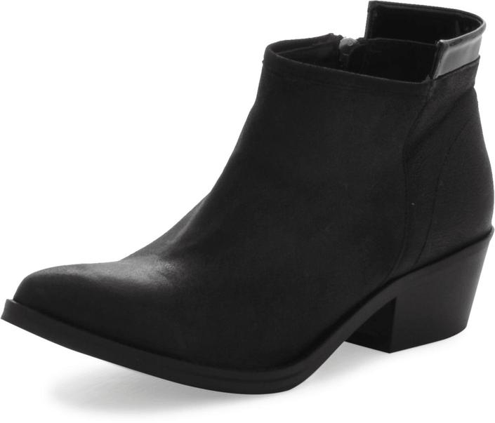 V Ave Shoe Repair - Crescend Ankle Boot Black