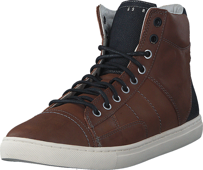 G-Star Raw - Augur II Sentinel Brown Lthr w Denim