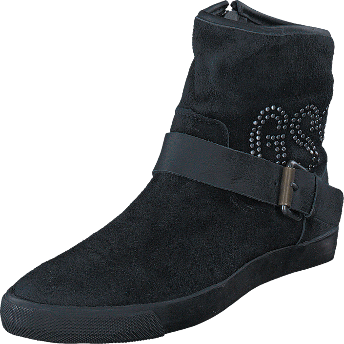 G-Star Raw - Rampart Prestige Rivet Black Lthr & Suede