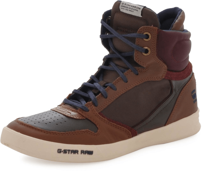 G-Star Raw - Yard Pyro Nylon DK Brown & Textile w Wine