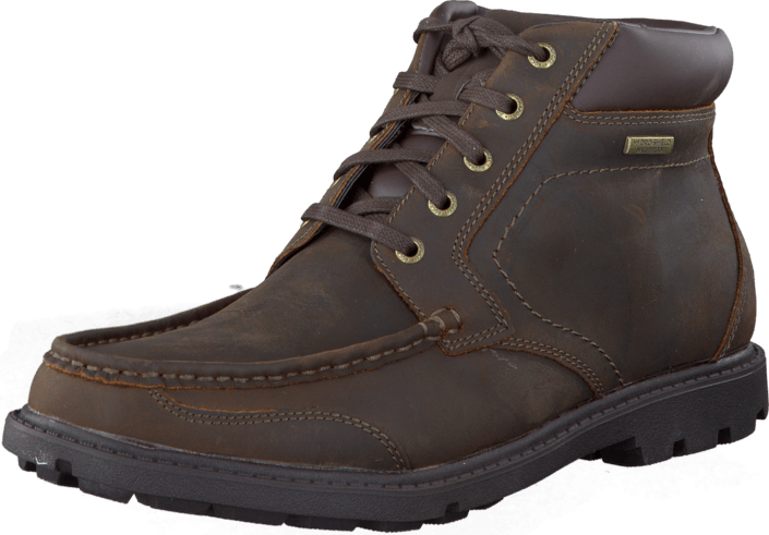 Rockport - Rdg Buc Moc Boot Wp Dk Brown