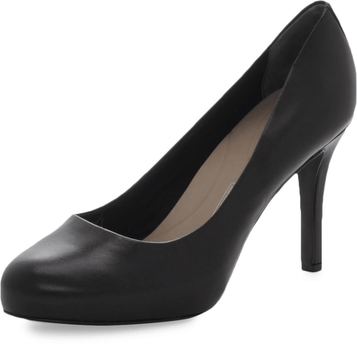 Rockport - Sto7H95 Plain Pump Black Smooth