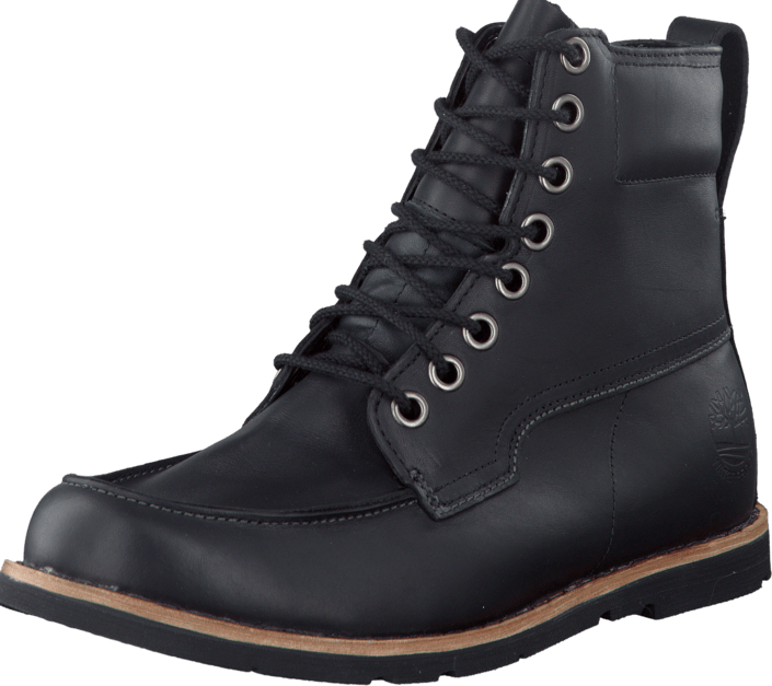 Timberland 5064A Ek Rugged Moc Toe Boot Black