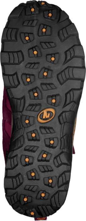 Merrell - Moab Polar Mid Strap Wtpf Kids Purple Potion