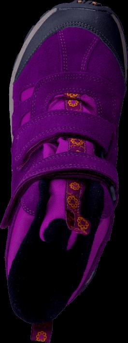 Merrell - Moab Polar Mid Strap Wtpf Kids Purple Potion
